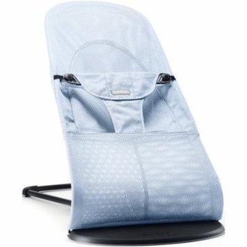 BabyBjorn Bouncer Balance Soft, Ice Blue Fish, Mesh