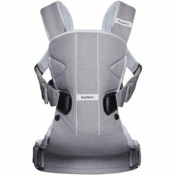 BabyBjorn Baby Carrier One, Little Gray Seal, Cotton Mix