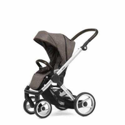 Mutsy Evo Farmer Edition Stroller - earth with silver chassis