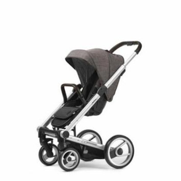 Mutsy Igo Farmer Edition Stroller - earth with silver chassis