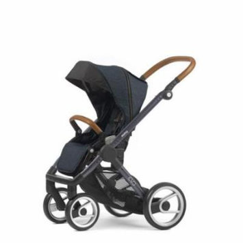 Mutsy Evo Industrial Edition Stroller - blue with dark grey chassis