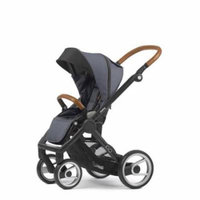 Mutsy Evo Industrial Edition Stroller - grey with black chassis
