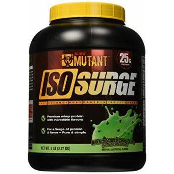Mutant Isosurge Whey Isolate Protein Powder, Mint Chocolate Chip, 5 Pound