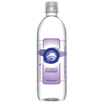 O Water O Ultra Premium Water, Wild Berry, 20-Ounce Bottles (Pack of 12)