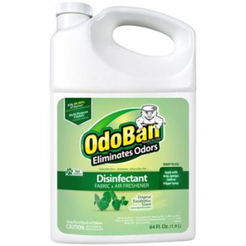 OdoBan Original Eucalyptus Scent Disinfectant Fabric & Air Freshener, 64 fl oz