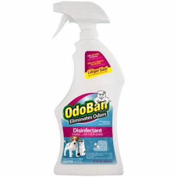 OdoBan Cotton Breeze Scent Disinfectant Fabric & Air Freshener, 27 fl oz