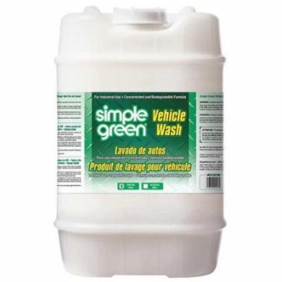 SIMPLE GREEN 0280100102005 Vehicle Wash,Green,Pail,5 gal. G2016458