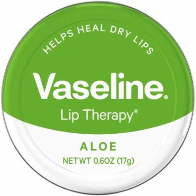Vaseline Lip Therapy Aloe Vera Lip Balm Tin, 0.6 oz