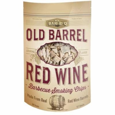 Mr. Bar-B-Q Old Barrel Red Wine Barbecue Smoking Chips