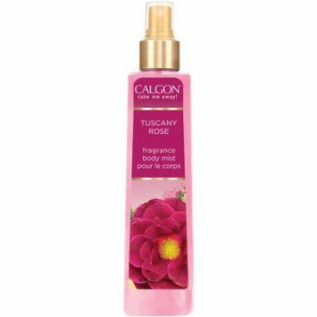 Calgon Tuscany Rose Fragrance Body Mist, 8 fl oz