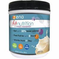Zena Fit Nutrition for Weight Management Vanilla Powder Dietary Supplement, 12.34 oz