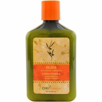 CHI Organics Olive Nutrient Therapy Conditioner, 12 fl oz