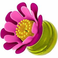 Boon FORB MINI Soap Dispensing Silicone Dish Brush, Pink
