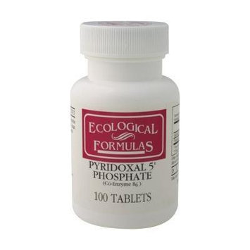Cardiovascular Research Pyridoxal-5-Phosphate Tablets, 100 Count