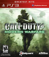 Activision Call of Duty 4: Modern Warfare Game of the Year Greatest Hits