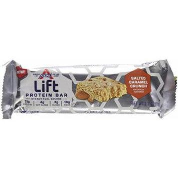 Lift Protein Bar, Salted Caramel Crunch, 60 Gram (Pack of 24)