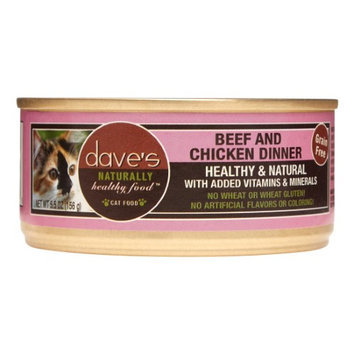 Dave's Pet Food Dave's Cat Food Grain-Free Beef & Chicken Dinner
