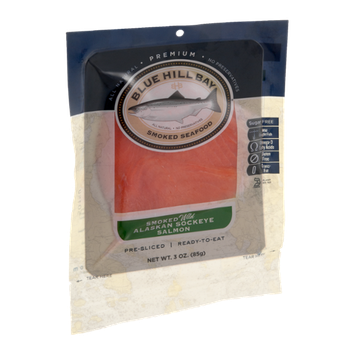 Blue Hill Bay Smoked Wild Alaskan Sockeye Salmon
