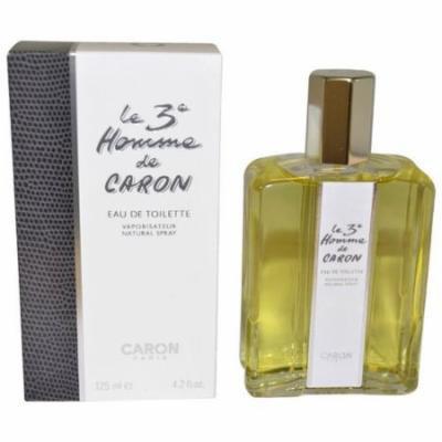 Caron Le 3e Homme for Men Eau de Toilette Spray, 4.2 oz