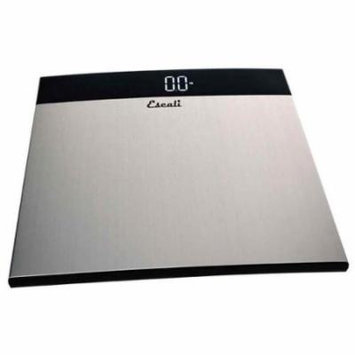 Escali S200 Extra Large Stainless Steel Bathroom Scale, 440 Lb / 200 Kg
