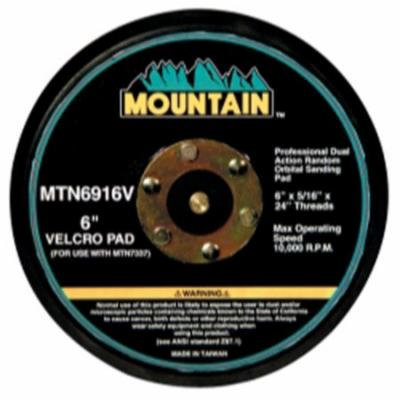 Mountain 6916V Professional Dual Action Random Orbital Sanding Pad with Velcro Backing