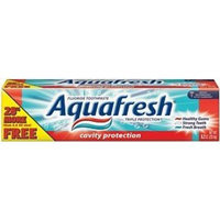 Aquafresh Triple Protection Fluoride Toothpaste, Cavity Protection, 8.2 oz