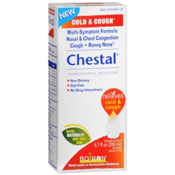 Boiron Chestal Cold & Cough Syrup, 6.7 fl oz