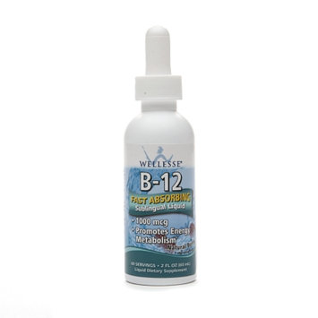 Wellesse Vitamin B-12 Sublingual Liquid