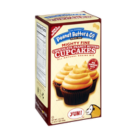Peanut Butter & Co. All Natural Mighty Fine Chocolate Peanut Butter Cupcakes Baking Mix