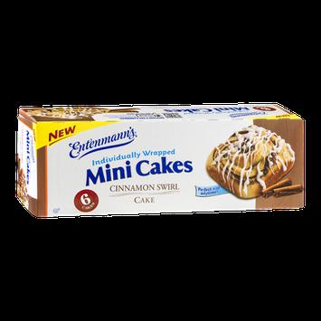 Entenmann's Mini Cakes Cinnamon Swirl - 6 CT