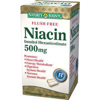 Nature's Bounty Flush Free Niacin