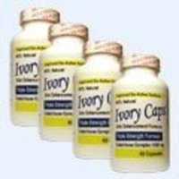 Princeton Nutritional Systems 4 Pack Ivory Caps **BEST VALUE**- Maximum Potency Glutathione 1500