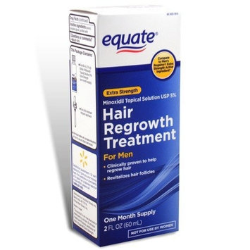 Equate - Hair Regrowth Treatment for Men with Minoxidil 5% Extra Strength, 2 fl oz