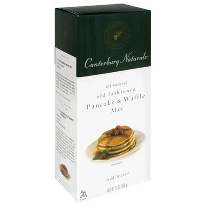 Canterbury Naturals Old Fashioned Pancake & Waffle Mix, 13-Ounce Packages (Pack of 6)