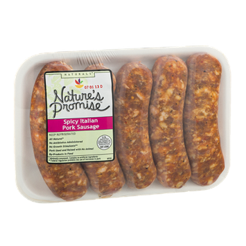 Nature's Promise Spicy Italian Pork Sausage - 5 CT