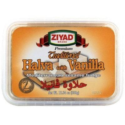 Ziyad Halva with Vanilla, 12.34-Ounce (Pack of 6)