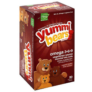 Yummi Bears Fish Free Omega 3-6-9 Dietary Supplement