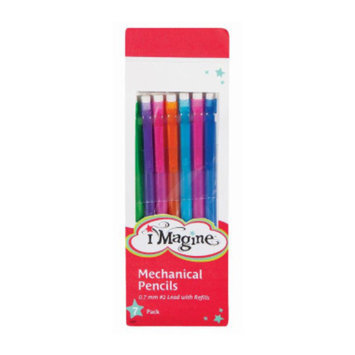 Imagine Fashion Mechanical Pencils 0.7mm, 7 pack