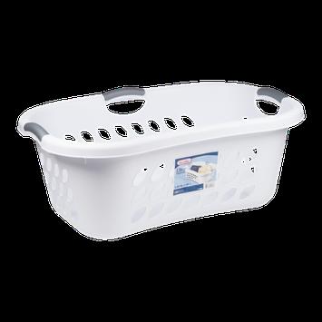 Sterilite Ultra HipHold Laundry Basket White - 1.25 Bushel