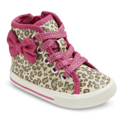 Genuine Kids from Oshkosh Infant Girl's Genuine Kids from OshKosh Allison Sneakers - Cheetah 2