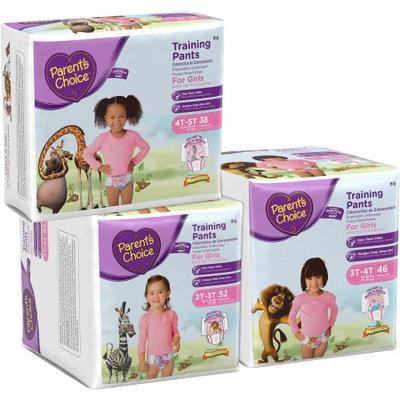Parents Choice Parent's Choice Girls' Training Pants, Big Pack (Choose Your Size)