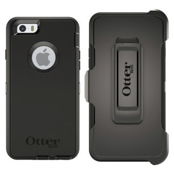 Otterbox Defender Cell Phone Case for iPhone 6 - Black (98465VRP)