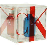 Ck One by Calvin Klein for Men and Women, Set (4-Piece Collector's Cube, Eau De Toilette 0.5 Ounce)