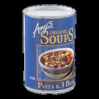 Amy's Kitchen Organic Soups Pasta & 3 Bean