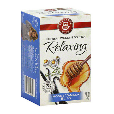 Teekanne Relaxing Honey Vanilla Bliss Tea Bags