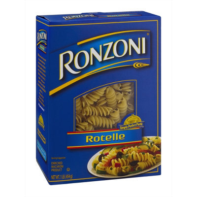Ronzoni Enriched Macaroni Product Rotelle