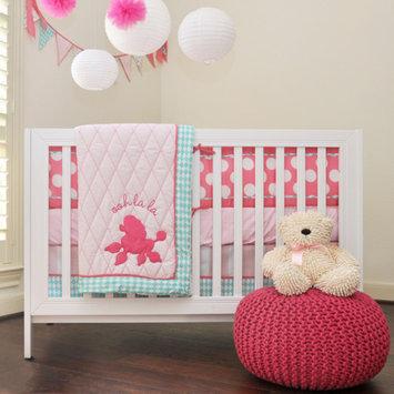Pam Grace Creations Posh in Paris 10-Piece Baby Girl Crib Bedding Set