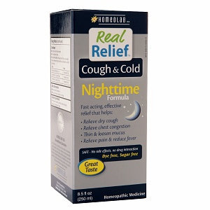Homeolab Real Relief Cough & Cold Nighttime Formula