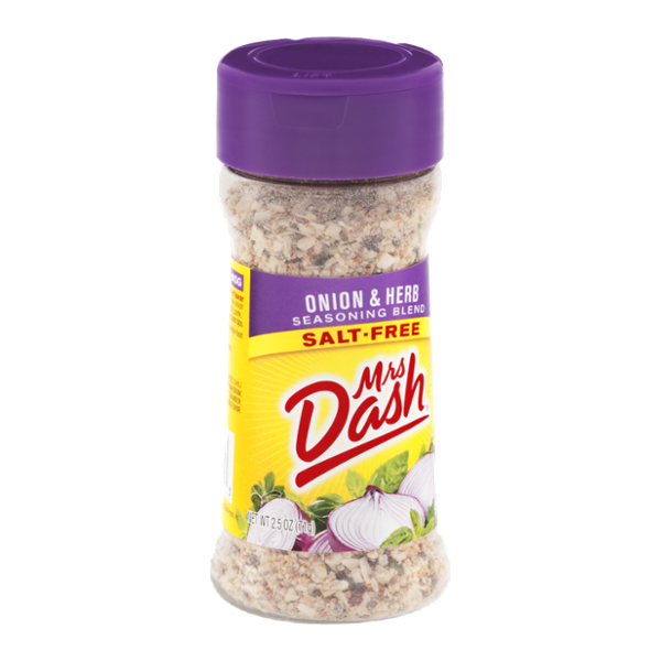 Mrs. Dash Salt-Free Seasoning Blend Onion & Herb