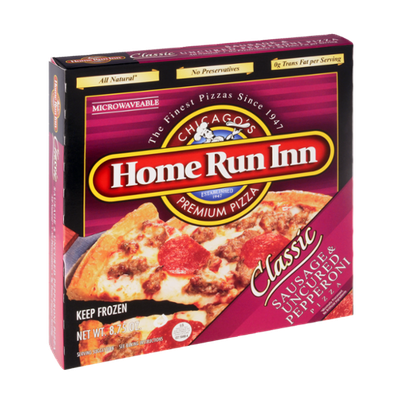 Home Run Inn Classic Sausage & Uncured Pepperoni Pizza